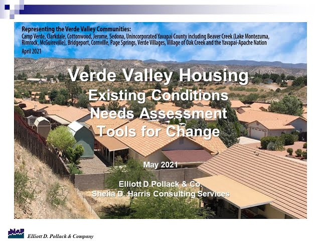 May 17: Verde Valley Housing Survey Presentation
