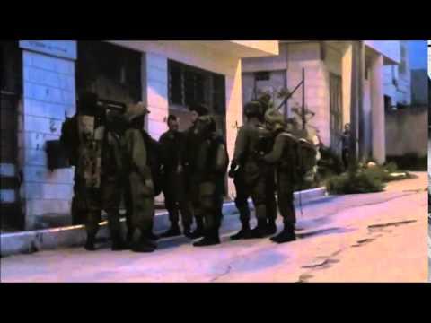 Israeli military training in Palestinian neighborhood