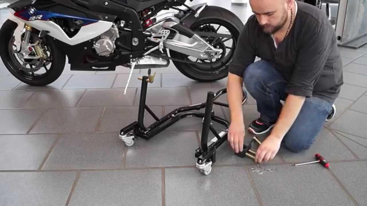 Cavalletto Sposta Moto Posteriore Ducati Scrambler Classic ConStands Mover II Universale nero