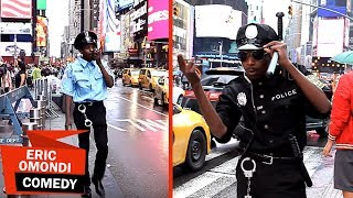 Eric Omondi : American Cops Vs African Police