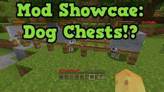 Minecraft Xbox 360 Mods Showcase - CHEST DOGS & SUPER SPEED
