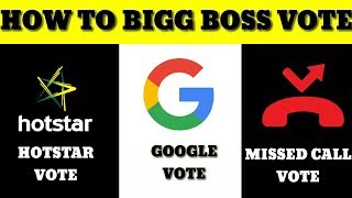 Bigg Boss Vote Hindi