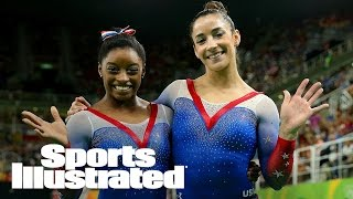 How Simone Biles Helped Calm Aly Raisman Down Before Olympics Began | SI NOW | Sports Illustrated