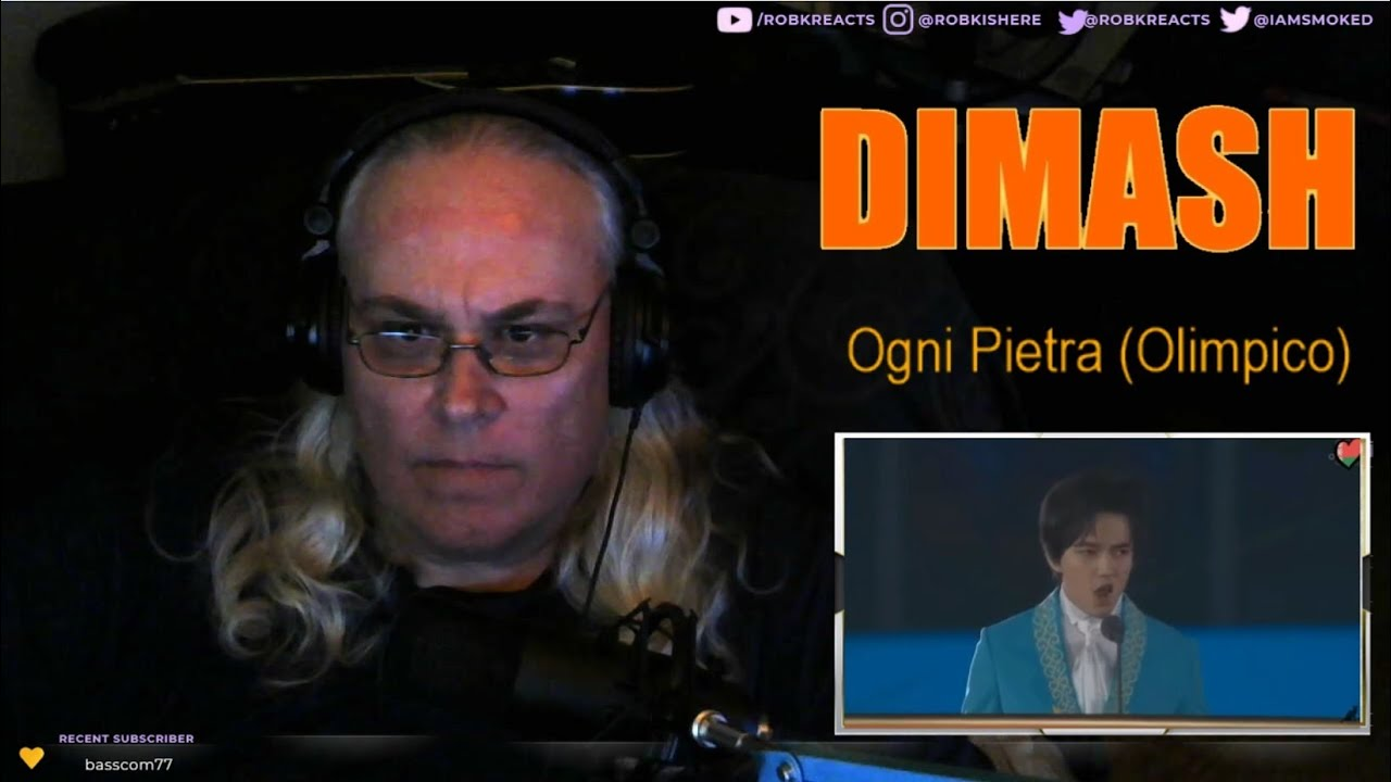 Dimash Kudaibergen – Ogni Pietra Requested Reaction - [Olympico] First Time Hearing