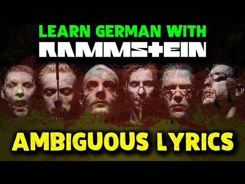 AMBIGUOUS GERMAN WORDS IN RAMMSTEIN SONGS 🔥 Lyrics explained
