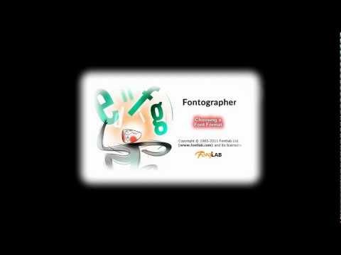Font Formats