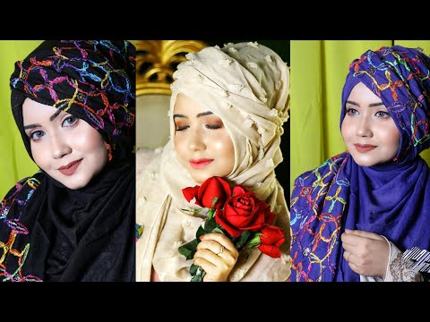 Arabian Style Hijab Tutorial |Full Coverage| Easy Tuts
