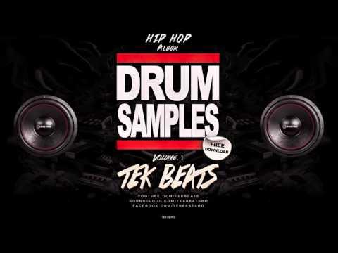 Hip Hop Drum Samples - Vol.1 Free Download (Album Demo) TeK Beats 2016