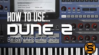 How To Use Dune 2 with Echo Sound Works  - The Arp/Squencer