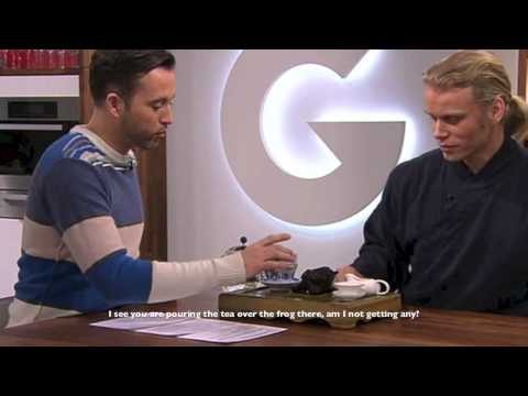 "Bjarte Hiley appears on Norwegian breakfast-tv ""God Morgen Norge"""