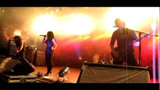 Krypteria - Get the hell out of my way / I Can't Breathe Live @ Stadtpark, Eupen, 23.07.2011