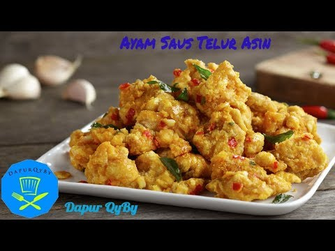 Resep Ayam Saus Telur Asin Salted Egg Chicken Recipe Youtube