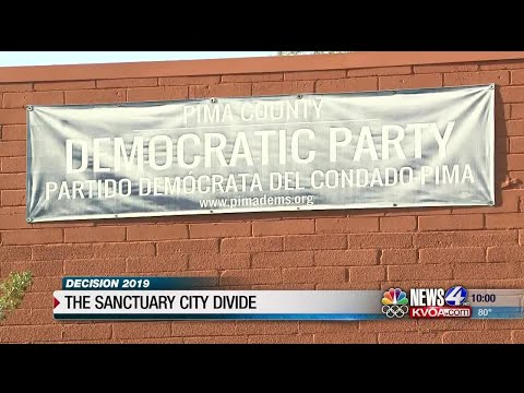 Garret Lewis - Tucson Democrats Fighting Each Other Over Sanctuary City Measure