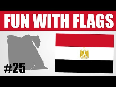 Fun With Flags #25 - Egyptian Flag