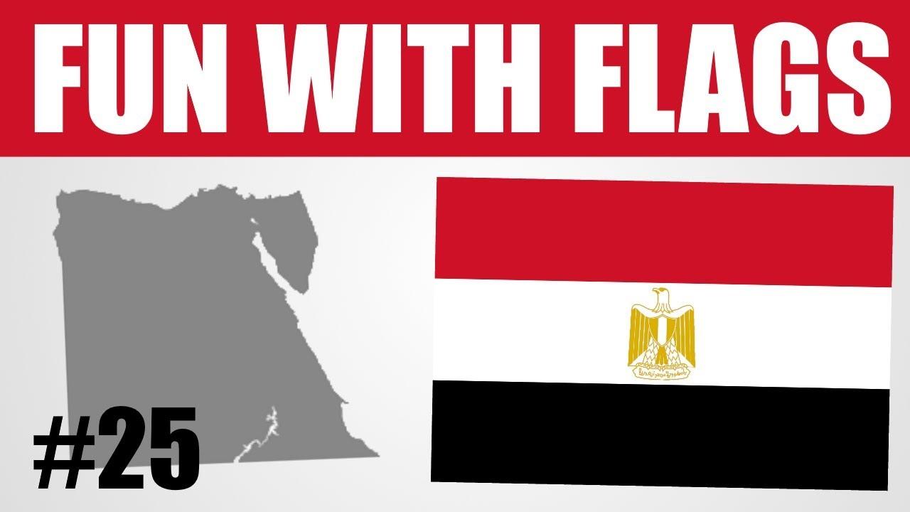 Fun With Flags 25 Egyptian Flag Youtube