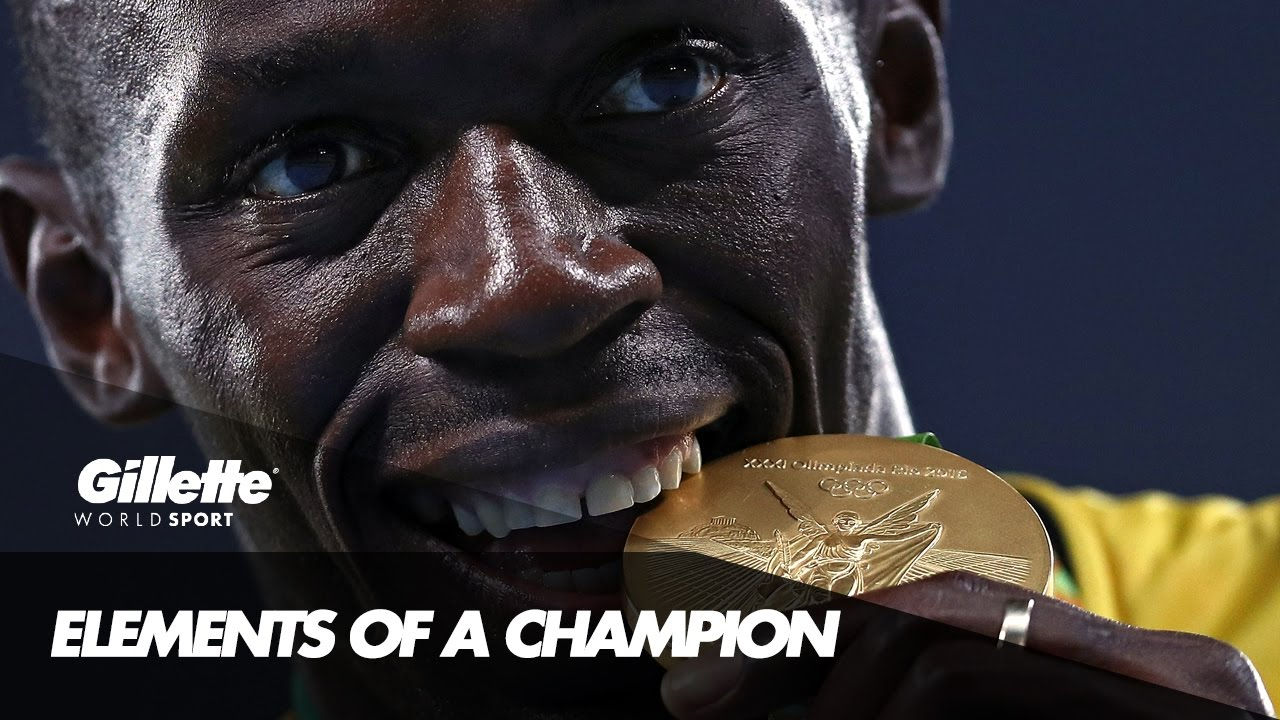 Usain Bolt - Elements of a Champion | Gillette World Sport