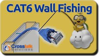 CAT6 Wall Fishing