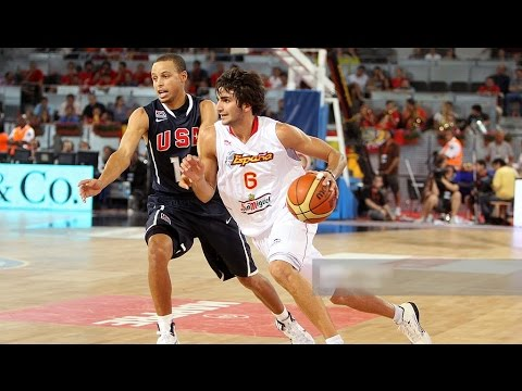 USA @ Spain 2010 FIBA World Basketball Championship Exhibiti