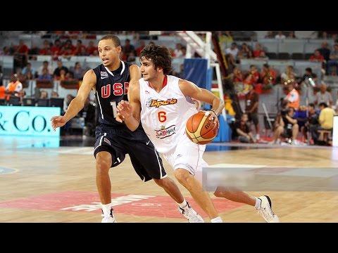 USA @ Spain 2010 FIBA World Basketball Championship Exhibition Friendly FULL GAME English