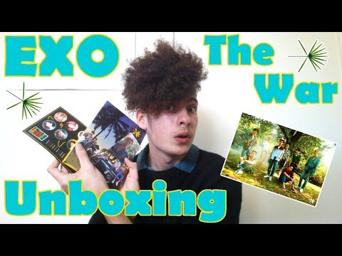 "EXO - 4th Album ""The War"" Unboxing 