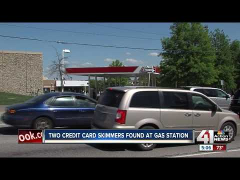 Gas pump skimming devices found in Overland Park