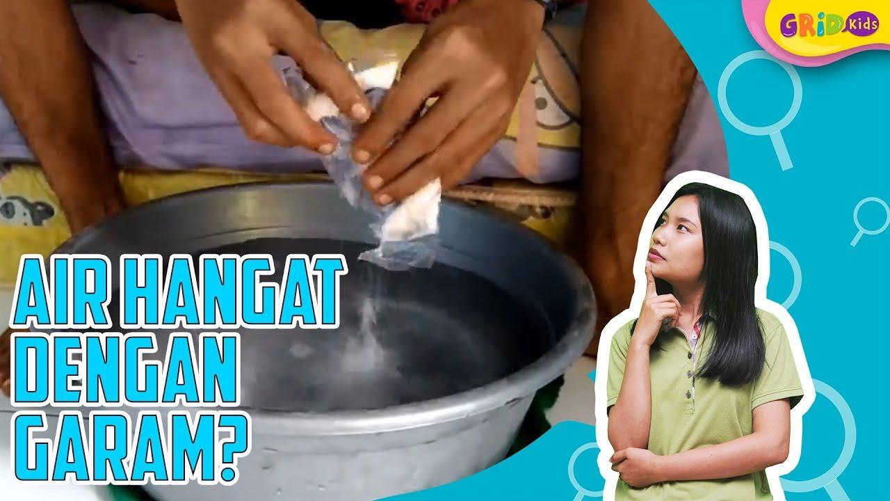 Manfaat Air Hangat Dengan Garam Youtube