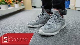 Schannel - Trên chân giày thông minh Xiaomi 90: Công nghệ thông minh, giá rẻ như Bitis Hunter