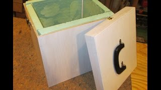 #7 Small Plywood Insulated Cooler Box Build