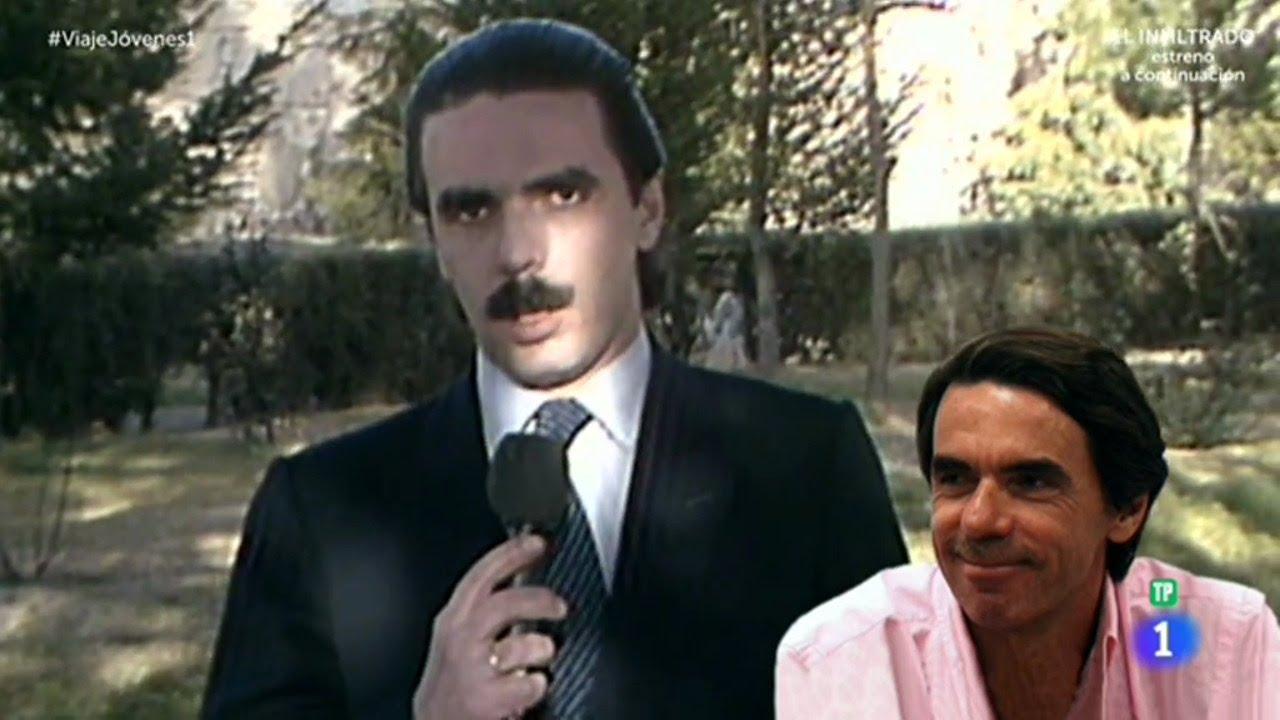 ¡No te piedas a Aznar en 1982! | Viaje al centro de la