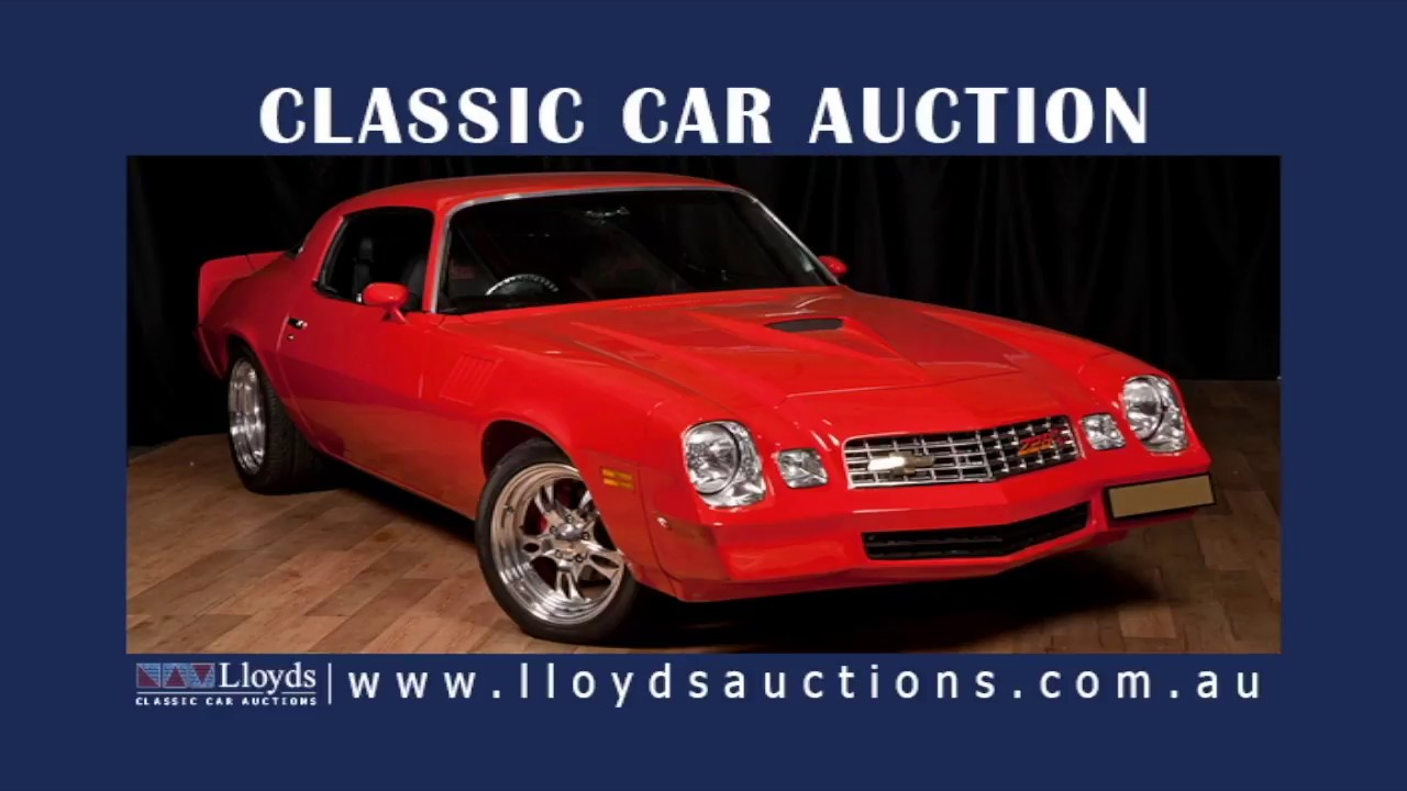 Lloyds USA Classic Car Auction - YouTube