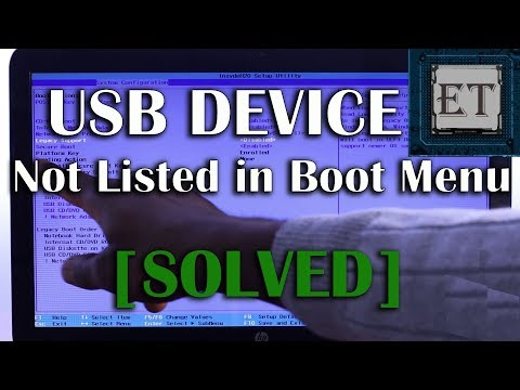 UEFI Boot | How To Boot From USB Flash Drive (USB Device Not Listed In Boot Order : Solved) 2018