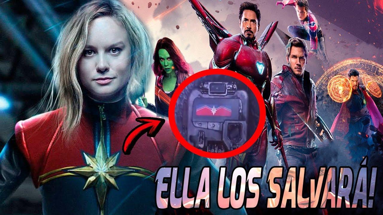 Capitana Marvel Los Salvará A TODOS! Avengers Infinity War