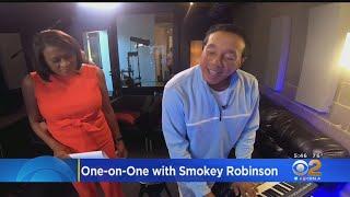 Smokey Robinson Celebrates Motown Records' 60th Anniversary