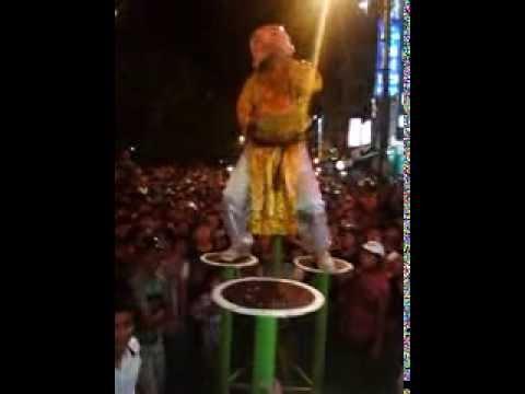 Trung Thu Huế 2013 - Đoàn lân sư rồng Bạch Ngọc Đường _ Huế ( 0909309446 ) Ông Địa Nhãy Dance