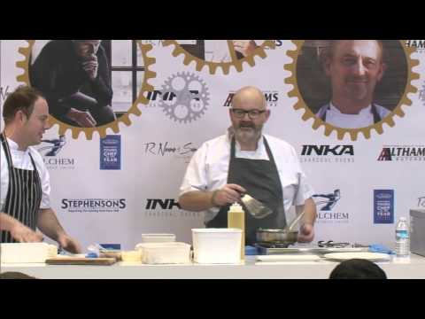 David Mooney cooks in Chef Live at NRB 2015
