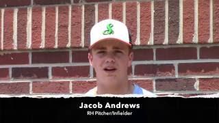 JACOB ANDREWS - NC STING Baseball 2016 - Reagan High School - Class of 2019