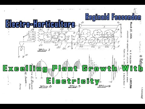Electrostatic Energy Electro-Horticulture Reginald Fessenden Excelling Plant Growth with Electricity