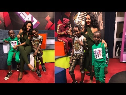Spice Diana Live On NTV The Beat With Waka Stars (Anti Kale).