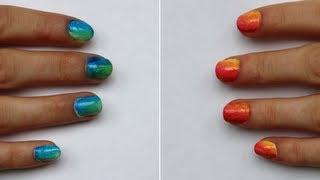 Ongles dégradés faciles ! Thumbnail