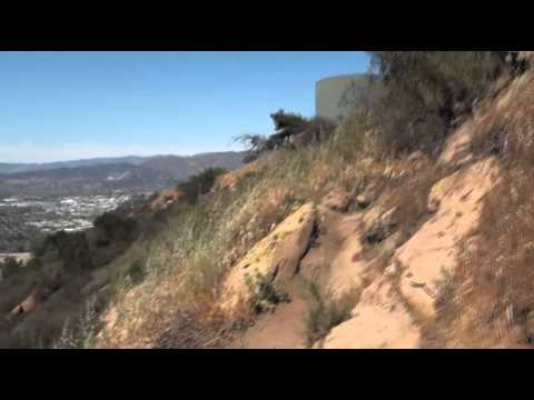 A long rambling hike to the Hollywood Sign (over an hour)