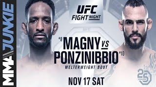 MMAjunkie Radio Fight Breakdown: Ponzinibbio vs. Magny at UFC Argentina