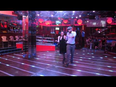 Miguel Cózar y Lucile Dulux de Lindyhop.cat en Lenox Swing Av