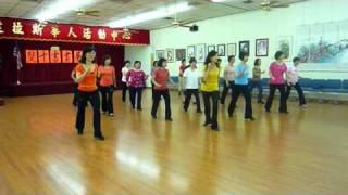 Out & Jump - Line Dance (Dance & Walk Thru)