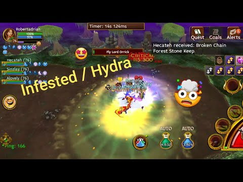 Hydra / Infested Runs | Arcane Legends