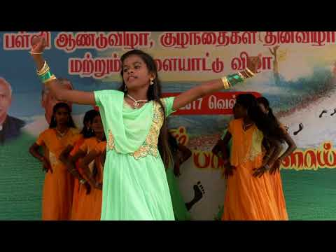 School Cultural Dance Tamil cut song
