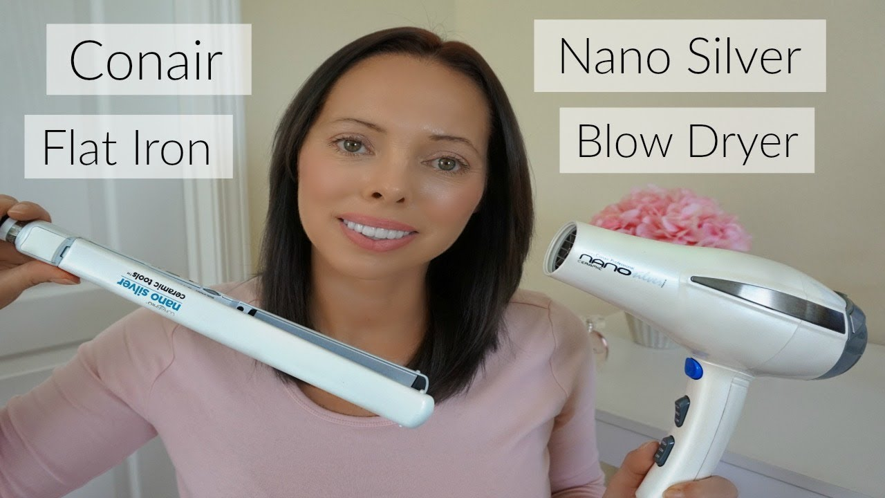 Conair Nano Silver Dryer And Flat Iron Review