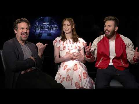 Avengers Endgame Evans, Gillan Ruffalo Interview