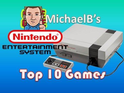 """Top 10 NES """"Nintendo"""" Games"""