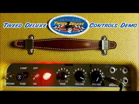 Tweed Deluxe Volume and Tone Control Demo