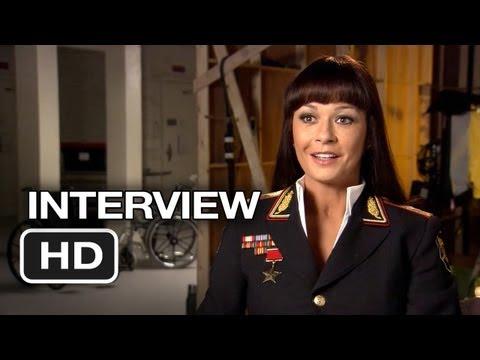 Red 2 Interview - Catherine Zeta-Jones (2013) - Bruce Willis, John Malkovich Movie HD